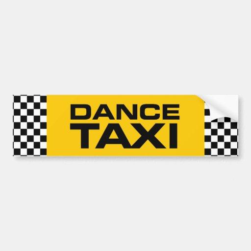 Dance Taxi Bumper Stickers