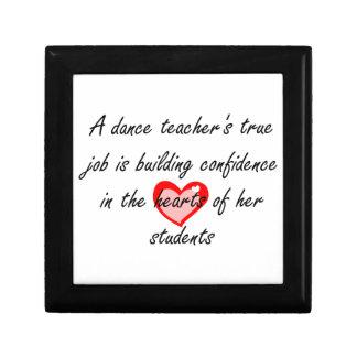 Dance Teacher - Building Cofidence Jewelry Box