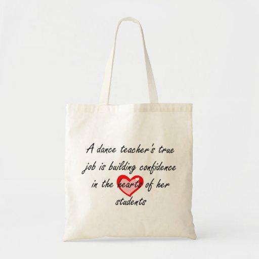 Dance Teacher - Building Confidence Tote Bag