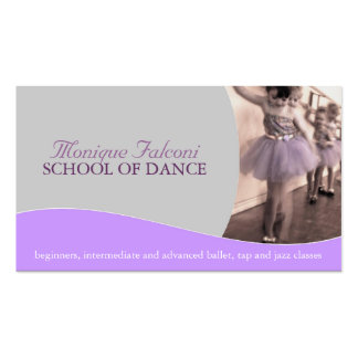 Dance Teacher Business Card