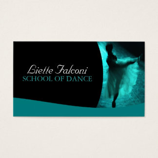 Dance Teacher Business Card