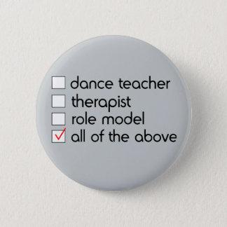 Dance Teacher Checklist Button