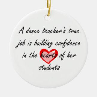 Dance Teacher - Doubled-Sided Ornament