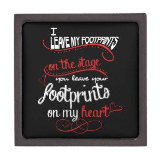 Dance Teacher - Footprints on the Heart Gift Box