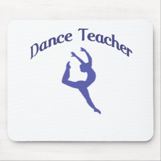 Dance Teacher Jete Mouse Pads