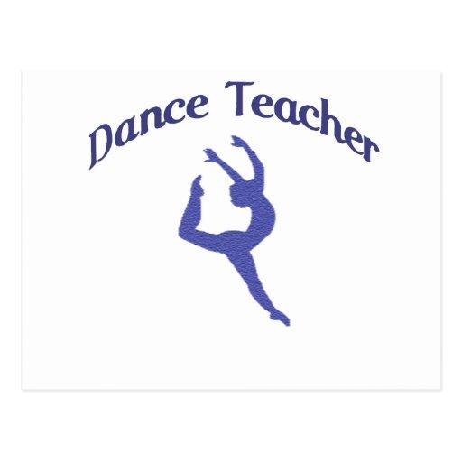 Dance Teacher Jete Postcard