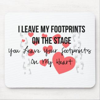 Dance Teacher Love Mouse Pad