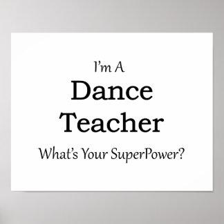Dance Teacher Poster