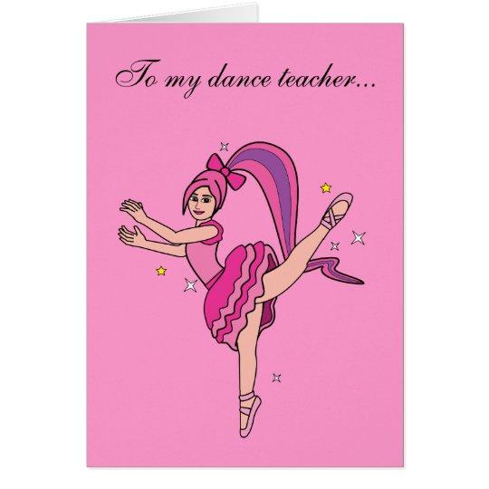 how to be a good dance teacher