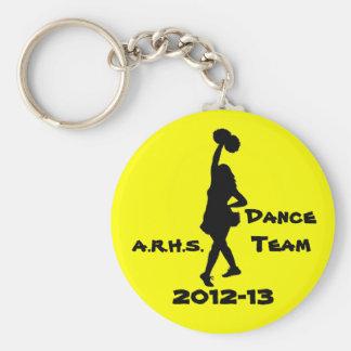 Dance team key chain