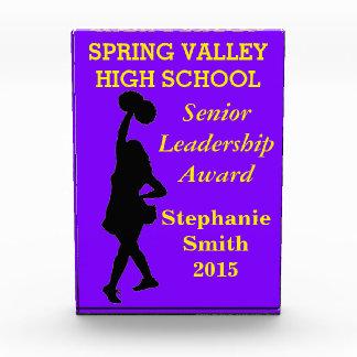 Dance team or cheerleader leadership award
