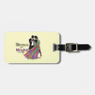 Dance the Night Away Luggage Tag