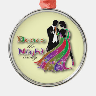 Dance the Night Away Metal Ornament