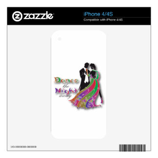 Dance the Night Away Skins For The iPhone 4