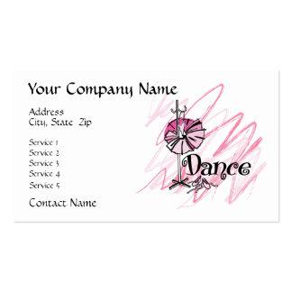Dance Theme Business Card