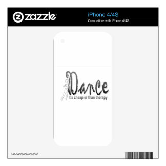 Dance therapy iPhone 4S skin