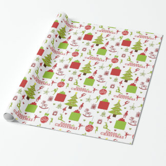 Dance this Christmas Wrapping Paper