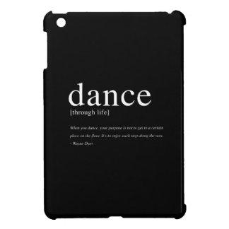 Dance Through Life, Inspirational Quote iPad Mini Cases