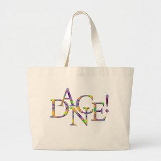 Dance! (Tie-dye) Tote Bags