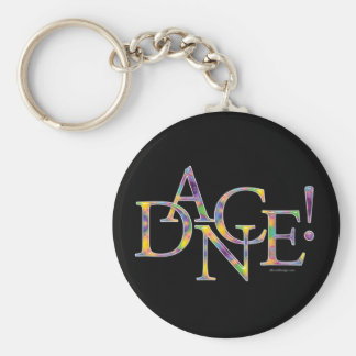 Dance! (Tie-dye) Keychain