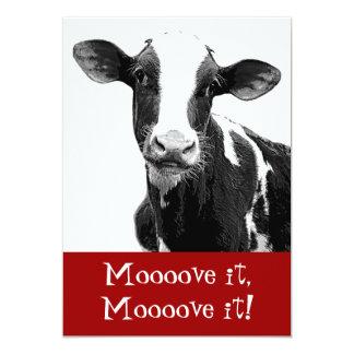 Dance til the Cows Come Home - Bachelorette Party Card