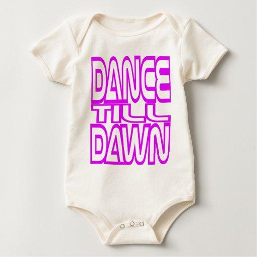 Dance Till Dawn Baby Bodysuits