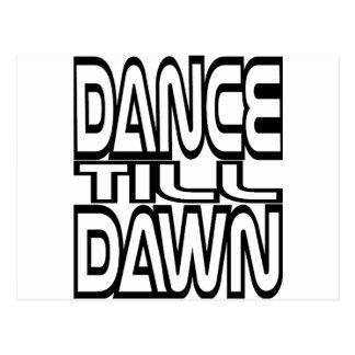Dance Till Dawn Postcard
