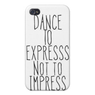 dance to express iPhone 4/4S cover