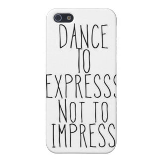 dance to express iPhone 5 cases