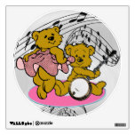 DANCE TO THE BANJO-WALL DECAL WALL DECALS