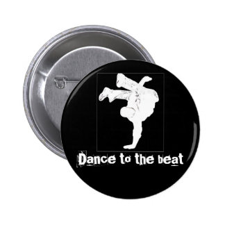 Dance to the beat pins