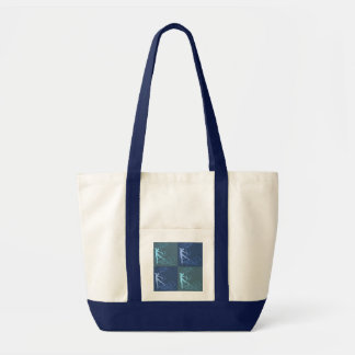Dance Tote (blue) Canvas Bag