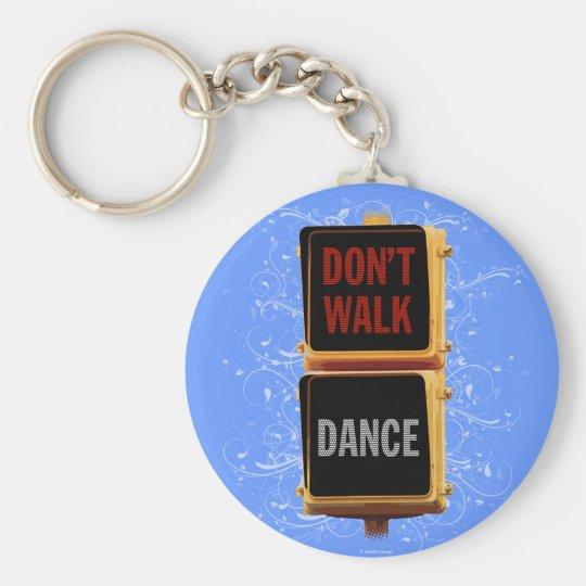 Dance Traffic Signal Keychain