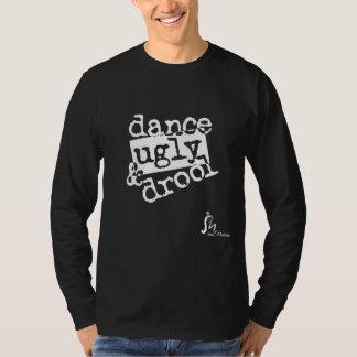 dance ugly drool ver 02 white sept10.ai tee shirt