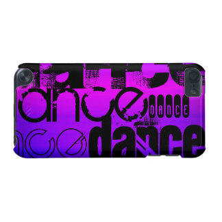 Dance; Vibrant Violet Blue and Magenta iPod Touch (5th Generation) Covers