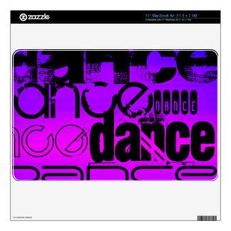Dance; Vibrant Violet Blue and Magenta MacBook Air Skins