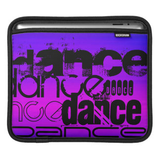 Dance; Vibrant Violet Blue and Magenta Sleeves For iPads
