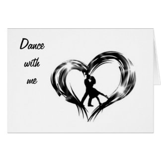 DANCE W/ ME ON YOUR 40th BIRTHDAY/FOREVER Card