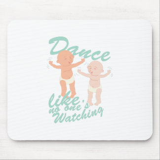 Dance Watching Mouse Pad