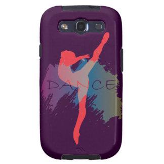 Dance Watercolor Samsung Galaxy S3 Cover