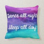 watercolor pillow, watercolor, watercolor throw