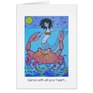 Dance with All Your Heart! Greeting Card