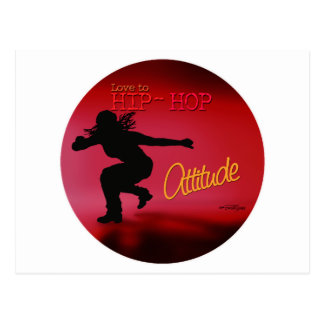 Dance with Attitude Postcard