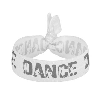 Dance with Dancers in Letters Elastic Hair Ties