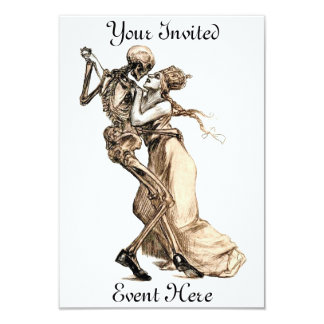 Dance with Death invitation