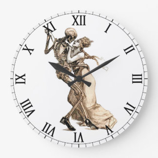 Dance with Death wall clock