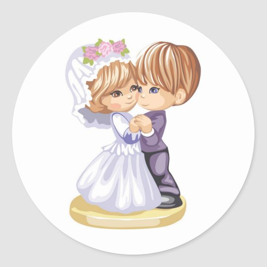 Dance with Me Classic Round Sticker