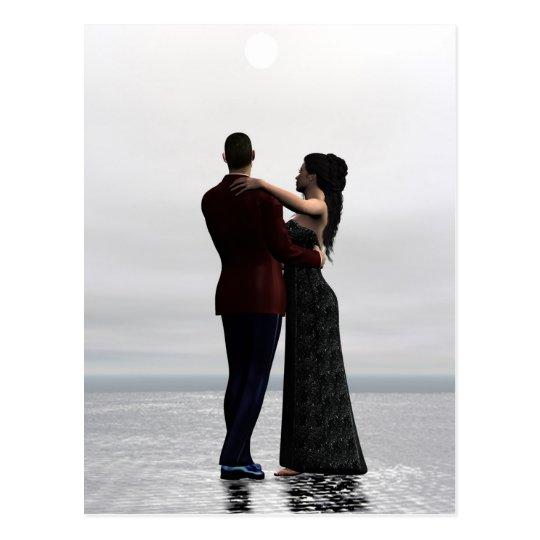 Dance With Me - Dancing Couple Postcard