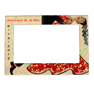 Dance With Me (Personalized) Photo Frame Magnets