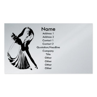 Dance with Me Profile Card Template Business Card Templates